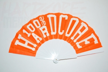 100% HARDCORE FAN LOGO ORANGE