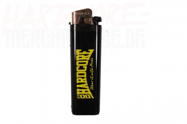 100% HARDCORE LIGHTER BLACK/YELLOW