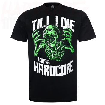 100% Hardcore T-Shirt Deadly Scream neon