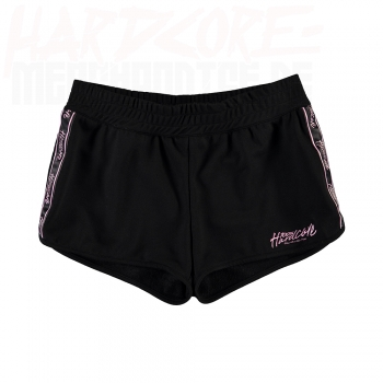 100% HARDCORE LADY HOTPANTS TAPED SCHWARZ/PINK