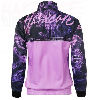 100% HARDCORE LADY TRAININGSJACKE FOG PINK