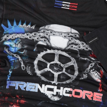 100% FRENCHCORE T-SHIRT GEAR UP (SIZE XXL)
