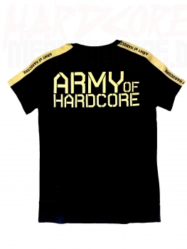 ARMY OF HARDCORE T-SHIRT 10 YEARS EDITION