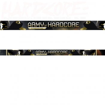 ARMY OF HARDCORE WRISTBAND 2018