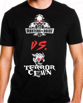 MASTERS OF NOISE VS. TERRORCLOWN T-SHIRT