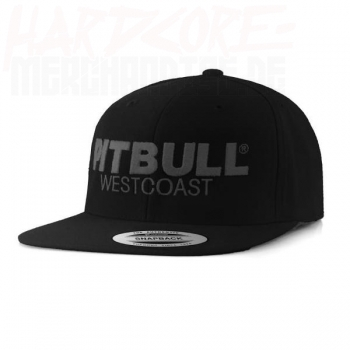Pitbull West Coast Snapback Cap black