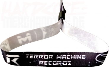 TERROR MACHINE RECORDS MASSIV WRISTBAND