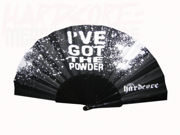 100% HARDCORE FAN POWDER BLACK