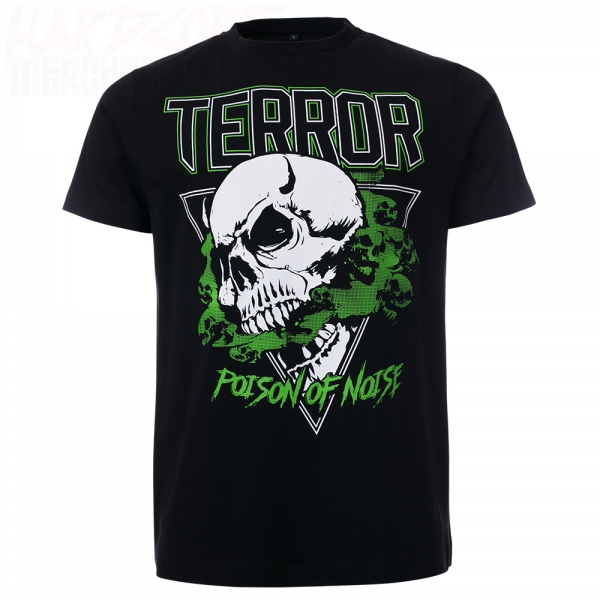 100% TERROR T-SHIRT POISON OF NOISE