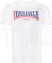 LONSDALE T-SHIRT TWO TONE WEISS (XL/XXL)