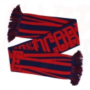 100% HARDCORE SCARF BRITAIN RED/BLUE