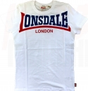 LONSDALE T-SHIRT CREATON WEISS